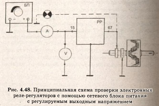 Схема подключения трудностей не вызывает даже у начинающих.  В качестве нагрузки лучше применять обмотку ротора...